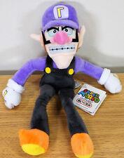 """New Super Mario mal Waluigi Plush Jouet Doux en Peluche Poupée Cadeau d'Anniversaire 11"""""""