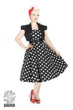 DTO. -20% ! Vestido Pin up Dress 50's Lunares Polka dot Bolero Heart and Roses