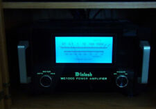 McIntosh MC1000 LED Amplifier Faceplate & Meter Lamps and Filter Kit bulbs light