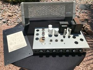 Guitar Audio Vintage DUKANE Model 1U460A  Power Amp Amplifier Tube 6L6 12AX7