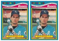 (2) 1988 Topps Toys R' Us Rookies Baseball 27 Kevin Seitzer Lot Royals