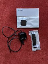 Fitbit Versa Smart watch - Black Aluminum - Small Band - Fitness Watch