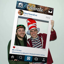 Instagram Photo Selfie Frame Happy Year's Eve Party Personalised Prop