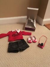 American Girl Grace's City Outfit 2015 Shorts Sweater  Shoes