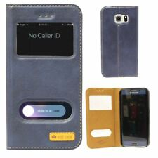 Wise Look Wallet Window Case for Samsung Galaxy Phones including S7, S8 and more