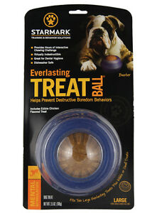 Starmark Everlasting Treat Ball for dogs & puppies Extra strong, dogs love them!