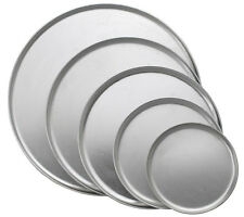 "Twelve 16"" Aluminum Coupe Style Pizza Trays Smallwares"