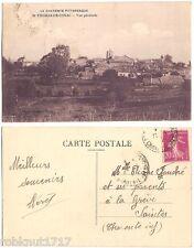 CPA Photo Brisset Pons postcard vue générale ST THOMAS DE CONAC → Jonzac 17 A