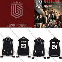 Kpop TOPP DOGG [Dogg`S Out] Baseball Uniform Coat Unisex Varsity Jacket Outwear