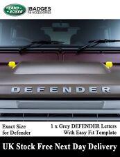 LAND ROVER DEFENDER BONNET LETTERING BADGE LETTERS 90 110 Td5