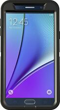 OtterBox DEFENDER Cell Phone Case for Samsung Galaxy Note 5 (BLACK)