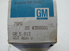 1966 67 68 69 70 Chevelle Camaro Nova Correct  Uncapped  LUG NUT 358501 DMC Copo