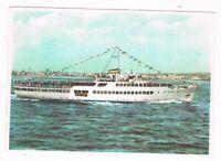 motonave traghetto SPAN  linee sorrento capri positano  procida ischia anni 60