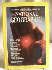 RARE NATIONAL GEOGRAPHIC MAGAZINE October 1982 THE CHIP Silicon Valley THAILAND