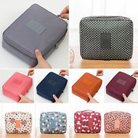 Portable Cosmetic Make Up Wash Bags Toiletry Beauty Case Travel Storage Pouch