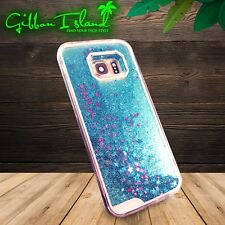 Samsung S7 Edge Case 360 Protection Glitter W Tempered Glass Screen Protector