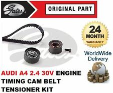 FOR AUDI A4 2.4 30V 2001-2004 GATES TIMING CAM BELT TENSIONER KIT COMPLETE