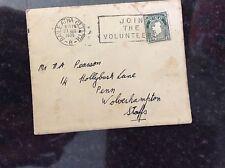 a2m envelope franked letter 1939 eire baile atha cliath