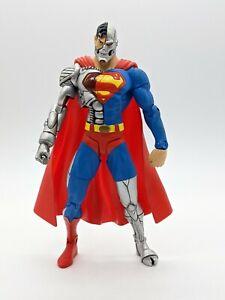 """DC Direct Cyborg Superman  6"""" Action Figure 2003 DC Comics"""