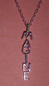 "Beatles John Lennon ""Imagine"" Pendant necklace w/18"" Chain"