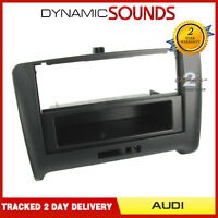 CT24AU14 Car Stereo Fascia Panel Adaptor Black For Audi TT Model 2006-2014