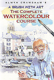A Brush With Art - The Complete Watercolour Course (DVD, 2004, 3-Disc Set)