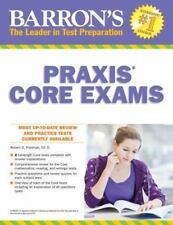 Barron's PRAXIS CORE EXAMS: Core Academic Skills for Educators Postman  Ed. D,