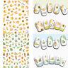 Herbst Thema 3D Nail Art Aufkleber Ahorn Blätter Nagel Aufkleber für Nagel Tipps