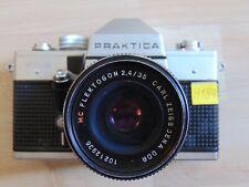 Fotokamera PRAKTICA MTL 3 Lens Objektiv Carl Zeiss JenaFlektogon 2,4/35 MC DDR