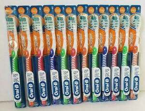 12 ORAL-B Complete Advantage Deep Clean Compact Soft toothbrushes + Indicator!
