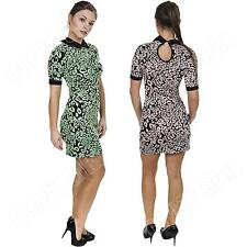 Petite Collared Short Sleeve Party Dresses for Women