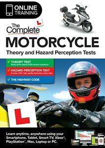 The Complete Motorcycle Theory and Hazard Perception Tests 2021(Online Ed)