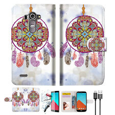 Dream Catcher Wallet TPU Case Cover For LG G4-- A016