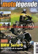 MOTO LEGENDE 180 YAMAHA RD 250 PMS BMW R 50/5 60/5 75/5 MBA 125 NORTON Inter