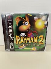 Rayman 2: The Great Escape (Sony PlayStation 1, 2000)  TESTED!  COMPLETE!!