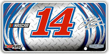 #14 Clint Bowyer Faux Diamond Plate DP1417WH