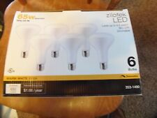 6 Pack Zilotek 65W (Uses 9 Watts) Dimmable Led Flood Lamp Indoor Outdoor (Rm-2)