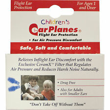 ==> 2X one pair each EARPLANES CHILDREN HYPOALLERGENIC EAR PLUGS , FLIGHTS