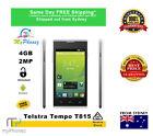"ZTE Telstra Tempo T815 White Unlocked 4"" 4GB 2 Years Warranty Cheap Smart phone"