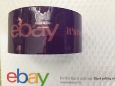 ebay Branded Packaging Shipping Tape (Purple) 2 Inch 1 Roll 75 Yards 2 Ml Thick
