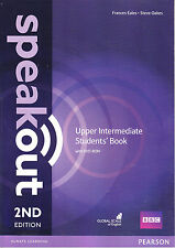 Pearson SPEAKOUT 2nd EDITION Upper Intermediate Students' Book with DVD-ROM @NEW