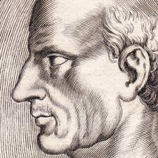 Portrait XVIIe Antisthène Ἀντισθένης Philosophie Cynisme Cynicism Philosophy