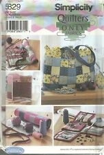 SIMPLICITY 5829 QUILTERS ONLY FABRICS NORDSTROM SEWING ACCESSORIES PATTERNS NEW