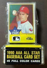 1989-90 CMC AAA ALL STARS Complete Set TODD ZEILE, R MARTINEZ  K11105605