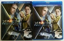 MARVEL X-MEN FIRST CLASS BLU RAY 2 DISC SET TARGET EXCLUSIVE RARE OOP SLIPCOVER