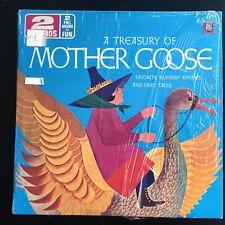 A TREASURY OF MOTHER GOOSE- Favorite Nursery Rhymes RARE NM- 2LP'S Shrink