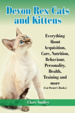 Smiley Clare-Devon Rex Cats & Kittens Every Book New