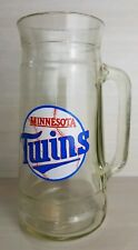 Minnesota Twins Mlb Vintage Peanuts Beer Mug Glass Stein 1970's - Excellent!