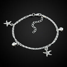 Cool Women Starfish Ankle Chain Anklet Bracelet Foot Jewelry Sandal Beach Chain
