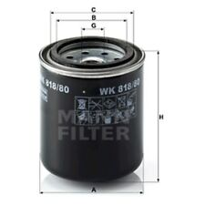 Mann WK818/80 Fuel Filter Spin On 92mm Height 82mm Outer Diameter Service